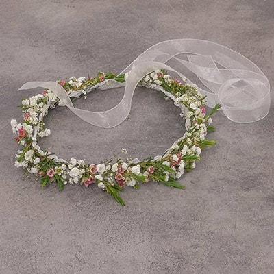 Hochzeit - Blumenkranz, Haarkranz